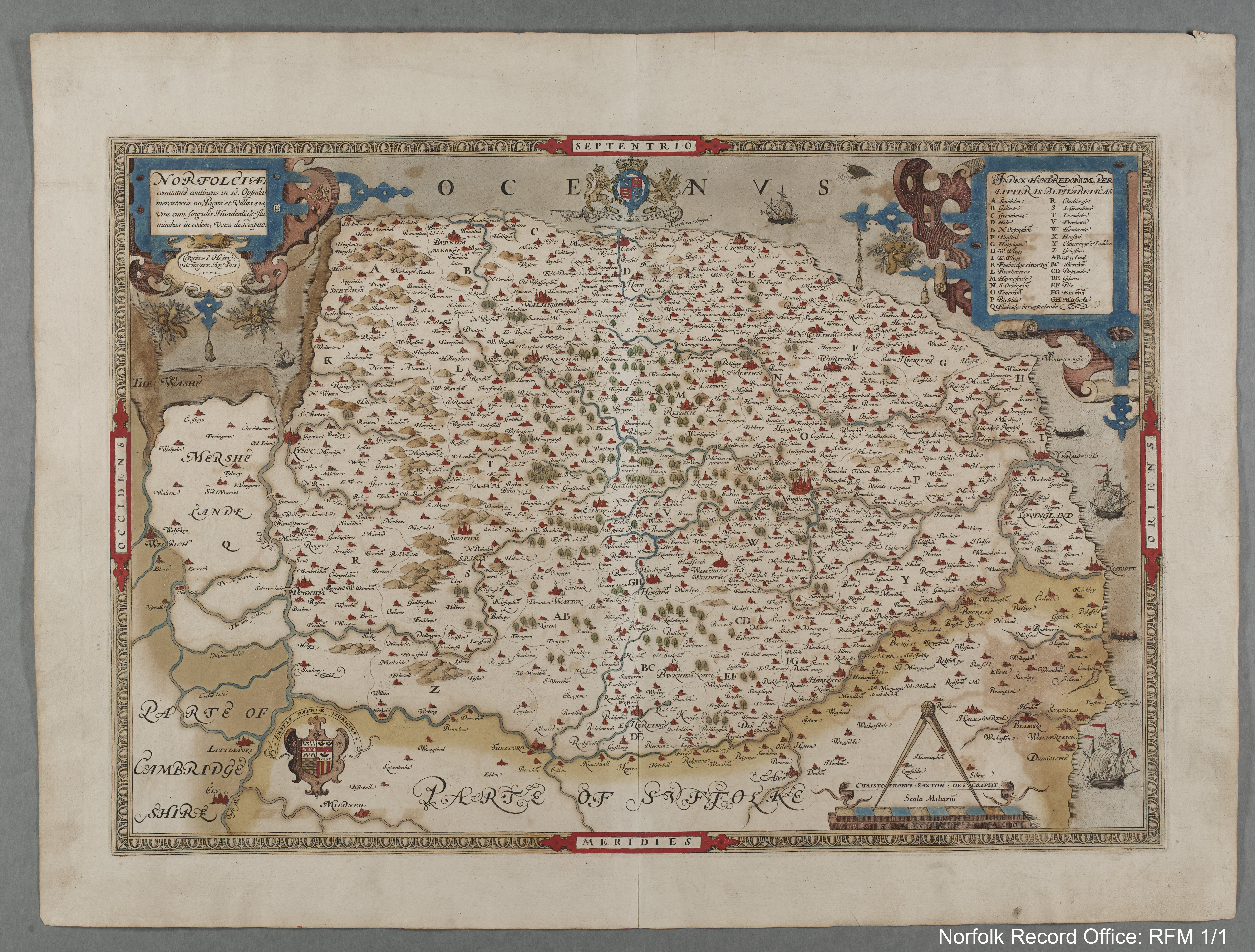 A unique collection of Historic Norfolk Maps the Raymond Frostick