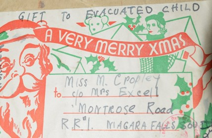 An image of Xmas label,NRO, MC 3139/
