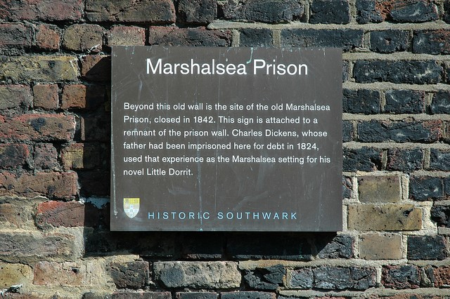 7 Marshalsea plaque