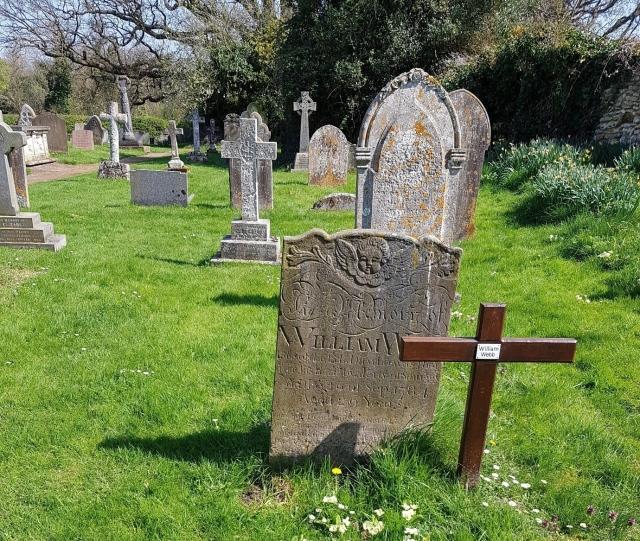 13 Webb headstone