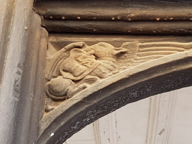 5 Hampton Court carving