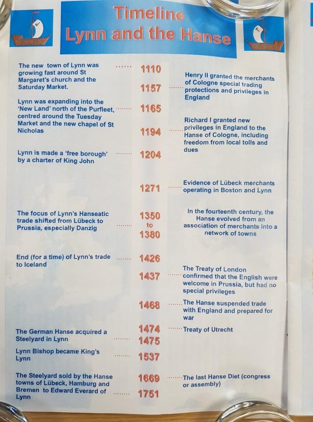 1 booklet timeline