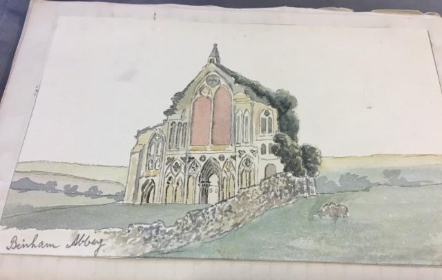 Binham Priory Bolingbroke