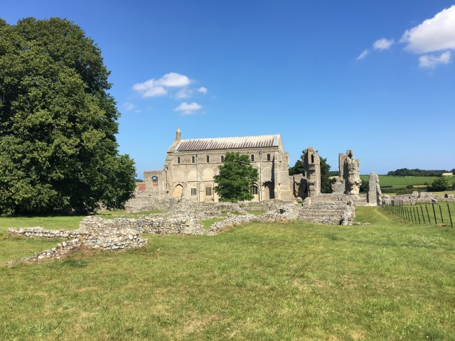 Binham Priory July 2019