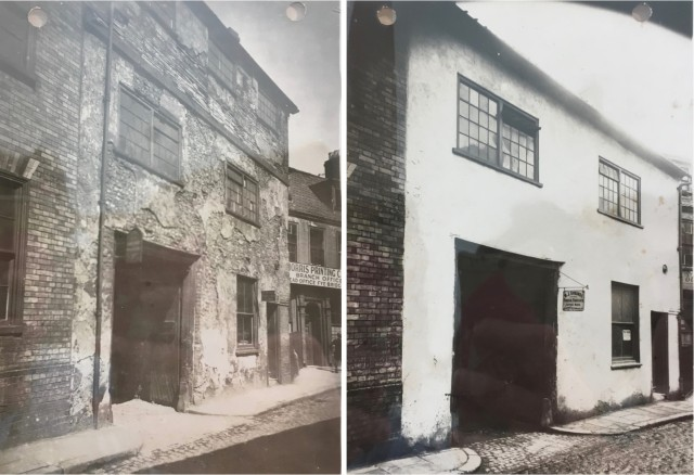 Elm Hill before and after