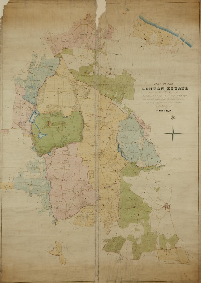 Map of the Gunton Estate NRO GTN 3.5.2.47