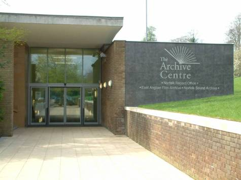 The Archive Centre Exterior front entrance