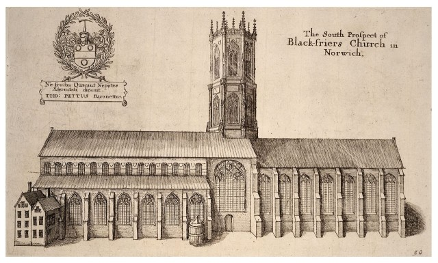 The South Prospect of Blackfriars Church
