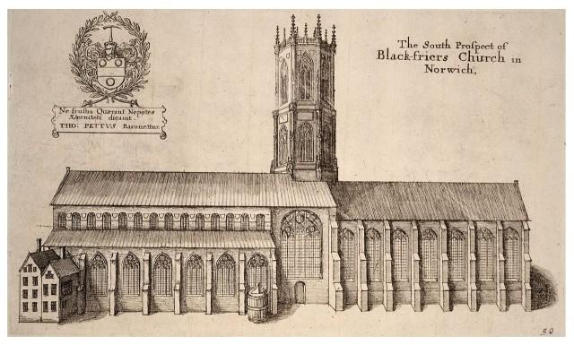 The South Prospect of Blackfriars Church