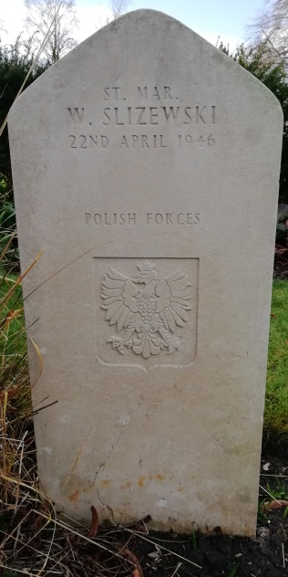 The grave of Wladislaw Slizewski